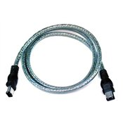Belkin 3ft IEEE 1394 Firewire 6Pin/6Pin 400 MBPS 22/28 Awg Ice