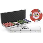 US Army Mascot 500-chip Poker and Dice Set