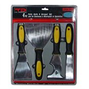 TD Four-piece Putty Knife, Scraper and Remover Set
