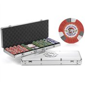 US Marines Mascot 500-chip Poker and Dice Set