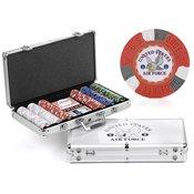 Air Force Mascot 300-chip Poker Set