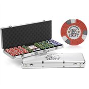 US Navy Mascot 500-chip Poker and Dice Set