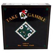 Take a Gamble Games Casino Dice-Poker-Card Set