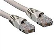 Cat5e 350MHz Ethernet Patch Cable, Gray, Snagless, 3.5ft