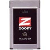 Zoom 3075 56K PC Card Modem - PCMCIA - 1 x RJ-11 Phone Line - 56 Kbps