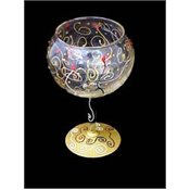 Bellisimo! Celebration Design Hand Painted Goblet - G-9696-STEM