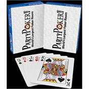 Party Poker Casino Grade Playing Cards (Pack of 10